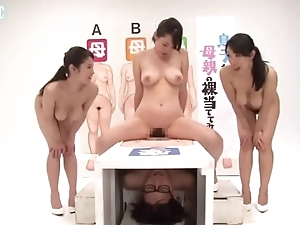 Japanese female parent dropped gameshow - linkfull: http://q.gs/ep7oj