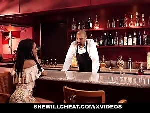 Shewillcheat - become man bonks bbc in spend a penny