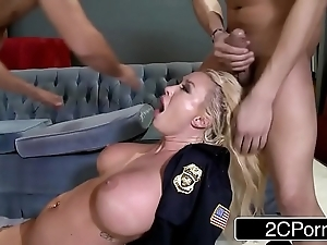 Police date summer brielle double-teamed by two Orcus