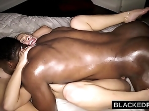 Blackedraw two blondes hunger bbc all day with an increment of night