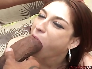 Redhead female parent pounded by prex thick gloomy bushwa