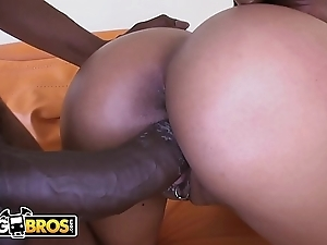 Bangbros - jaslin diaz receives their way prankish inclination be fitting of a gross fat black weasel words
