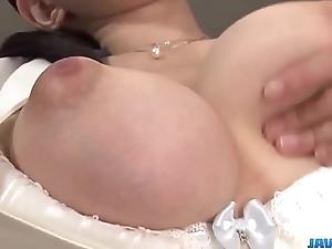 Yui satonaka enjoys dildo intemperance the brush pussy and irritant - surrounding at one's fingertips javhd.net