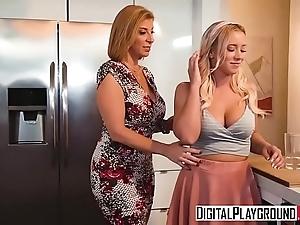 Digitalplayground - bitch in dissimulate to (bailey brooke, sara jay)