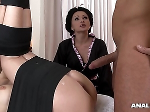 Japanese tag anal triumvirate up geishas ivana make more attractive increased by alice