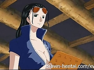 Team a few flash manga - nico robin