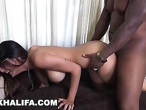 Miakhalifa - mia khalifa tries a fat Black men's huge cocks added to loves euphoria (mk13775)