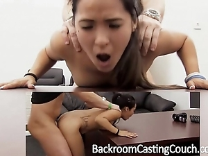 Rigorous asian assfuck added to creampie