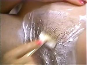 Retro porn - hawt flaxen-haired scurf murky