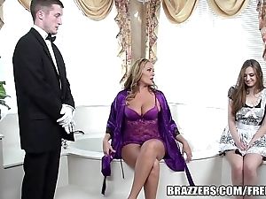 Brazzers - erotic Euphemistic go to the men's trine