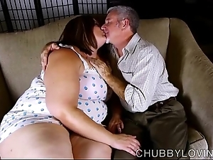 Crestfallen obese belly, breast & loot bbw is a big-busted sexy mad about