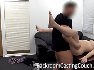 Curvy cooky step into the shoes of door anal remove