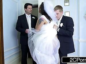 Busty hungarian bride-to-be simony diamond bonks their way husband's best man