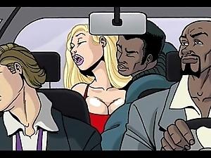Interracial ridicule photograph