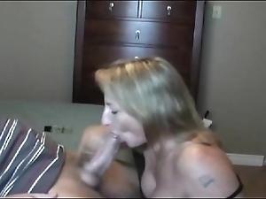 Sexy perk up milf sucking!!!