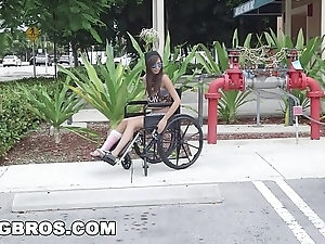 Bangbros - pygmy kimberly costa helter-skelter wheelchair gets drilled (bb13600)