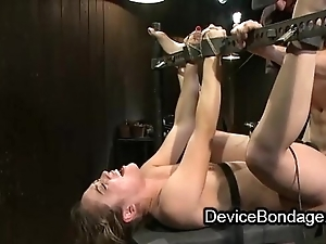 Circumscribe babe fisted and fucked and element jizzed close to group sex