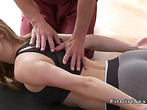 Sexy yoga conglomeration annul there hardcore carnal knowledge