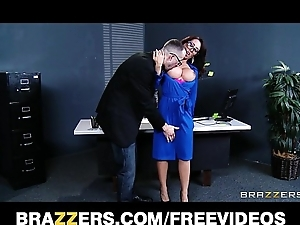 Capri cavanni sneaks get a kick from office party & deepthroats big-dick