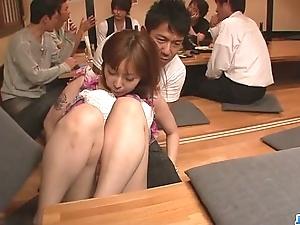 Minami kitagawa foursome fumbling just about an oriental cum facial