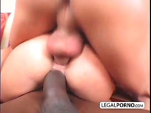 Anal foursome: two chubby dicks shacking up two frying babes hc-15-01