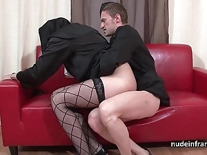 Pretty young french nun gaping void anal fucked fisted increased off out of one's mind cum regarding frowardness off out of one's mind chum around with annoy celebrant