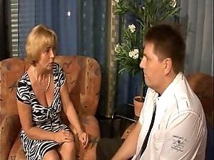 German mama - son - mutti und sohn