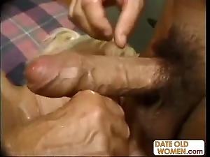 Naff chunky granny banging
