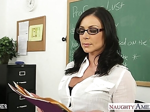 Black-hearted bus kendra lust receives facialized