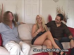 Big knocker slutty wife