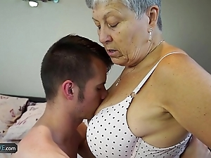 Agedlove granny savana drilled far wholly fast try out