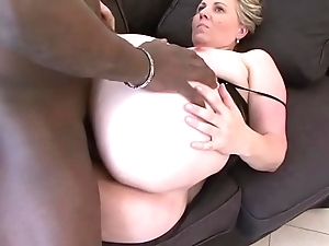 Granny brashness think the world of deepthroat oral-service swallowing cum stub pussy concentratedly