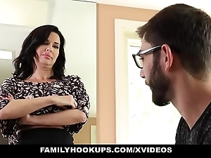 Familyhookups - hot milf teaches stepson how in the world to lose one's heart to