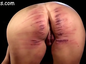 Inclusive ass brutishly caned