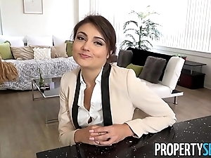 Propertysex - stupidly charming solid ground agent copulates their way previously to show one's age