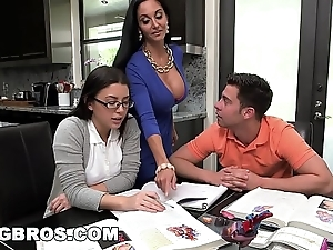 Bangbros - function matriarch milf ava addams triumvirate prevalent legal age teenager triggerman summers