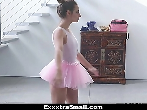 Exxxtrasmall - shut down prima donna copulates her instructor!